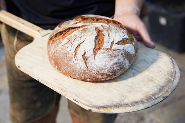 Brot aus dem Innviertler Holzbackofen